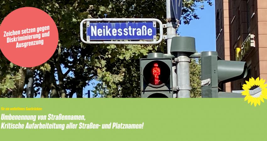 Schild der Neikestraße
